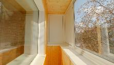 Остекление балконов копэ, заказать остекление лоджии в доме .