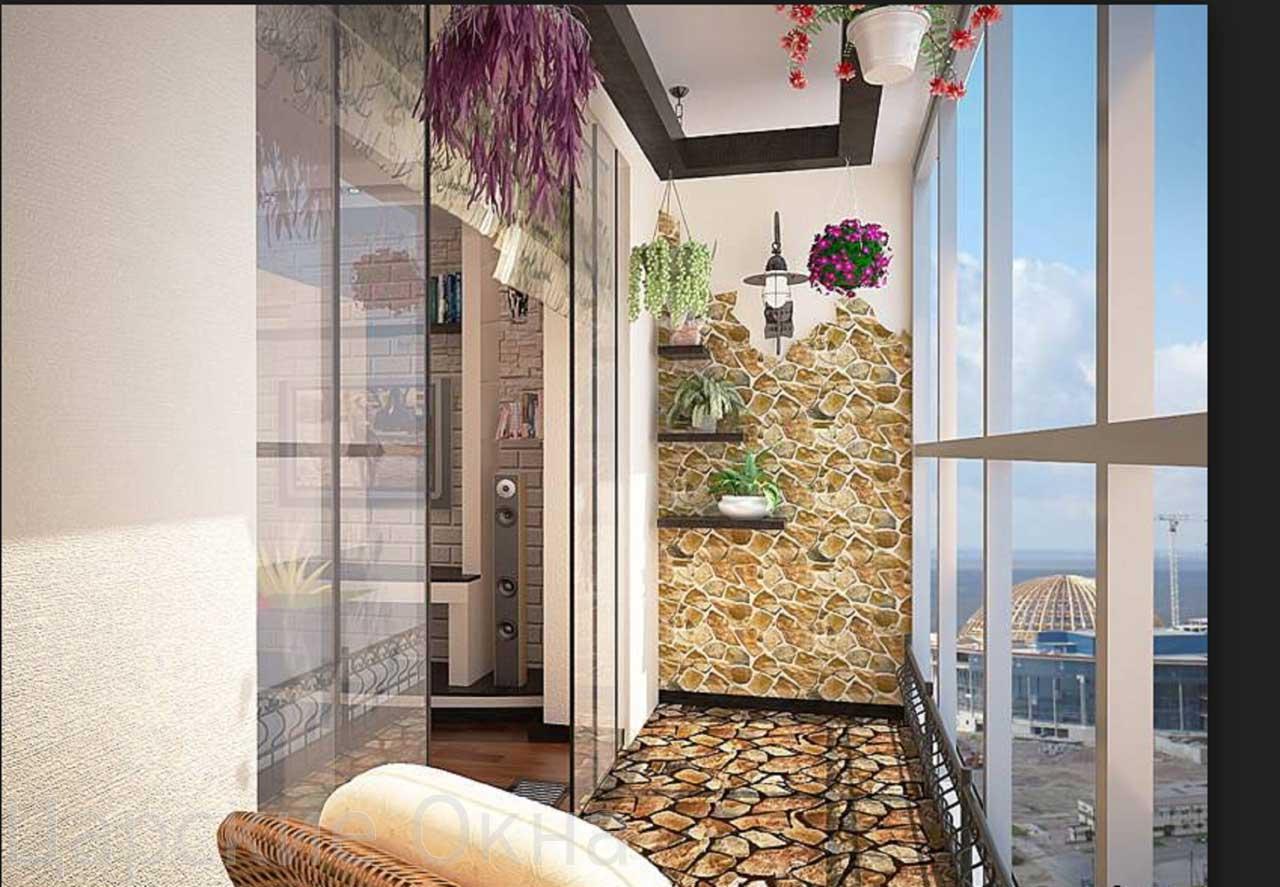 Интересные идеи по отделке балконов, фото вариантов женский .