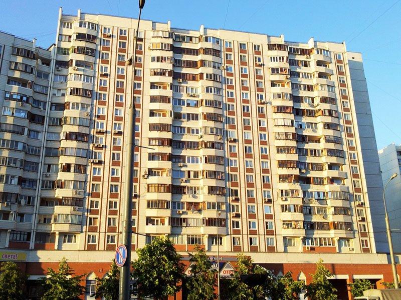 """Остекление балкона в доме серии п 44 - """"пск конструкция"""" вып."""