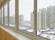 Остекление балконов в доме ii-68, заказать остекление лоджии.