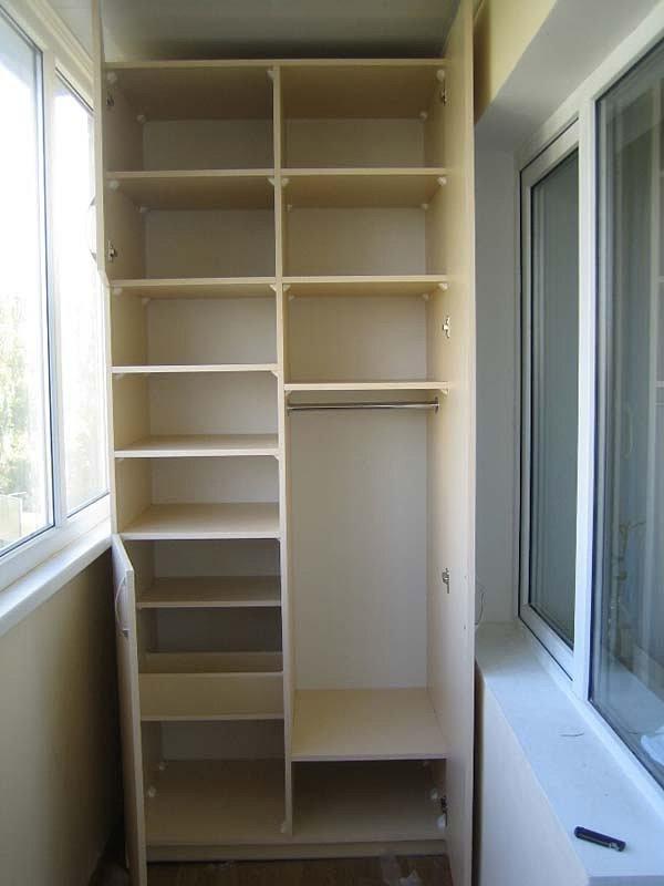Шкаф на балкон - купить, заказать шкаф на лоджию: цены в мос.